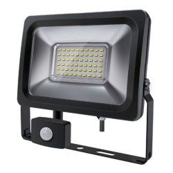 SLIM OUTDOOR LED FLOODLIGHT WITH PIR MOTION SENSOR 240VAC IP65