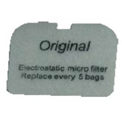 NILFISK Vacuum cleaner filter EXHAUST FILTER TO SUIT NILFISK GD5 / GD10 BACKPACKS