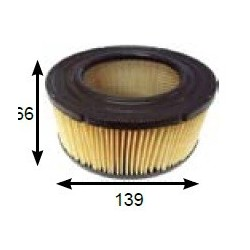 PULLMAN Vacuum cleaner filter CARTRIDGE FILTER FOR AS5