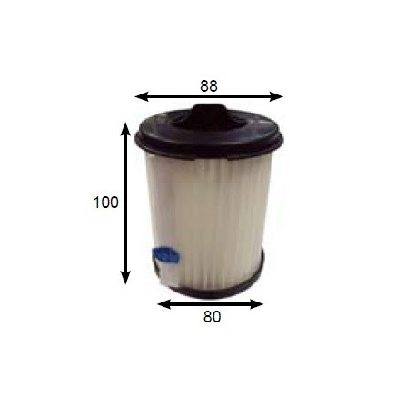 PIRANHA Vacuum cleaner filter PIRANHA ORION BTZW 603BER18, PIRANHA GRANDE BTZW 0501CER