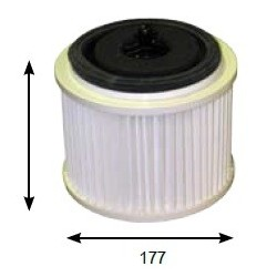 HILLS Vacuum cleaner filter CARTRIDGE FILTER TO SUIT HILLS DAS VAC HCV1600 DUCTED VACUUM SYSTEM