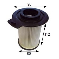 PIRANHA Vacuum cleaner filter HEPA FILTER FOR PIRANHA TYPHOON (COMES WITH CAGE)