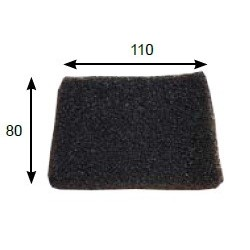 PULLMAN Vacuum cleaner filter EXHAUST FILTER FOR AS5