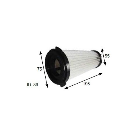 PACVAC Vacuum cleaner filter ACTIVE AIR FILTER TO SUIT ALL PACVAC SUPERPRO 700 MODELS (EXCEPT MICRON 700 & PROLITE)