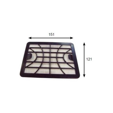 ZELMER Vacuum cleaner filter HEPA 11 AIR FILTER TO SUIT: ODYSSEY (V450.OST), CLARRIS TWIX (V2750.OST)