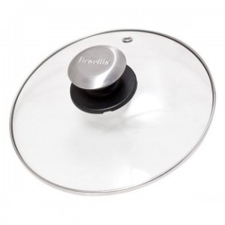 BRC600/06 GLASS LID WITH KNOB COMPLETE