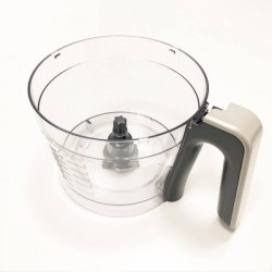 996510074817 Philips Food Processor Bowl With Black Handle